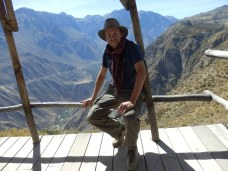 Above Colca Canyon, Peru